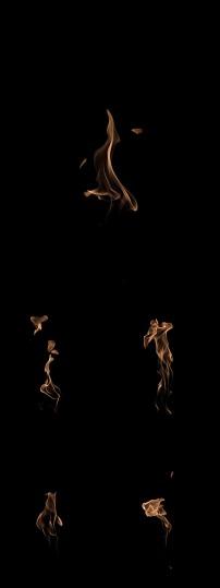 2k动态火焰火苗视频素材